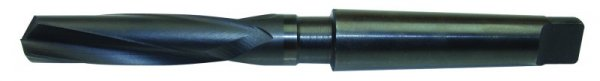 HSS-Co Mangan-Hartstahlbohrer, Werksnorm 27,0 mm Ø, Typ H, mit MK