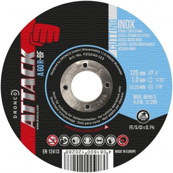 Trennscheiben f. Stahl/VA, Eco, 125 Ø x 1,0 mm