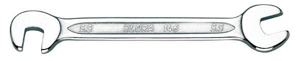 Doppelmaulschlüssel, klein, ELORA-146-6x6 mm
