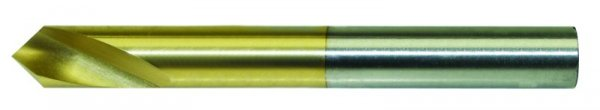 Hochl.-NC-Anbohrer, HSS-Co-TIN 6,0 mm Ø, 90°