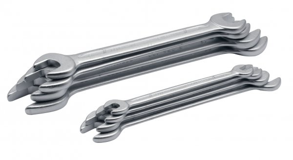 Doppelmaulschlüssel-Satz DIN 3110, 8-teilig 6-22 mm, ELORA-100S 8DIN