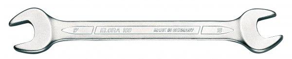 Doppelmaulschlüssel DIN 3110, ELORA-100-6x7 mm