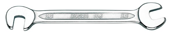 Doppelmaulschlüssel, klein, ELORA-146-12x12 mm