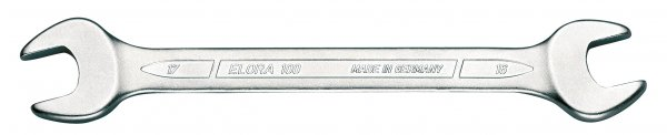 """Doppelmaulschlüssel DIN 3110, ELORA-100A-1.1/4x1.7/16"""""""