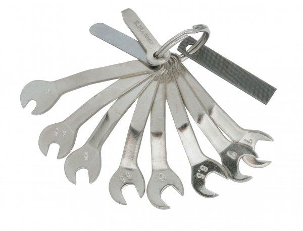 Magnetschlüssel-Satz, 11-teilig 4-7,5 mm, ELORA-157S11M
