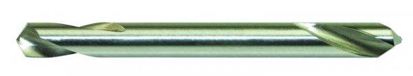 HSS-Präz.-Doppelendbohrer, geschliffen, 3,1mm Ø